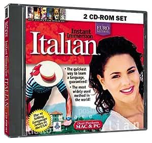 Instant Immersion Italian 2 CD-ROM Set (Jewel Case)
