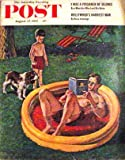img - for Saturday Evening Post August 27 1955 - True Firsts - The Sinister Strangers (sixth of eight parts) by Clarence Budington Kelland - Murder Comes to Eden (conclusion) by Leslie Ford (Vol 228 No 9) book / textbook / text book