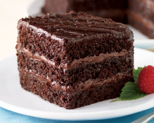 Triple Layer Chocolate Fudge Cake