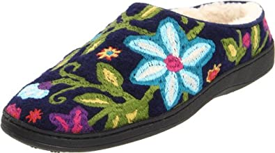 ACORN Women's Talara Mule Slipper,Navy/Multi,Small/5-6 M US