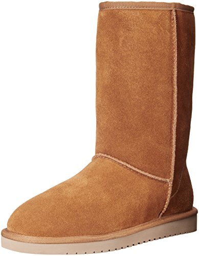Koolaburra by UGG Women's Classic Tall Winter Boot, Chestnut, 8 M US (Ugg Classic Tall Boots compare prices)