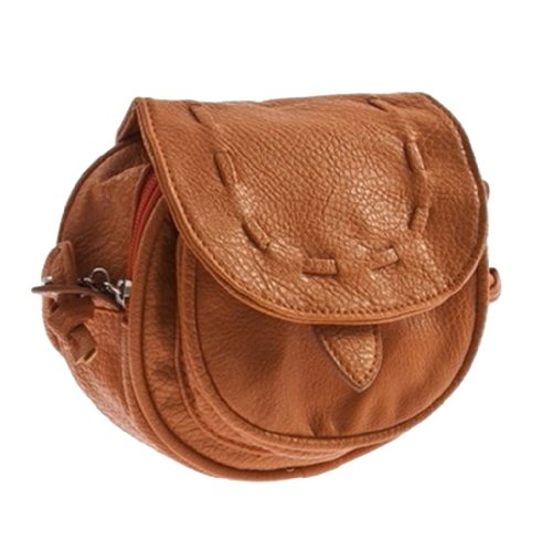YKS Lovely Cute Girl Pu Leather Mini Small Adjustable Shoulder Bag Handbag