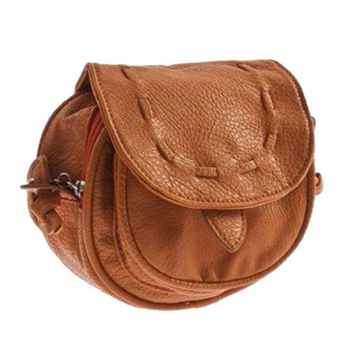 YKS Lovely Cute Girl Pu Leather Mini Small Adjustable Shoulder Bag Handbag