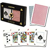 Copag Poker Size Dual Index 1546 Playing Cards (Red Blue Setup)