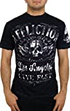 Affliction Mens Davey Jones T-Shirt L Black
