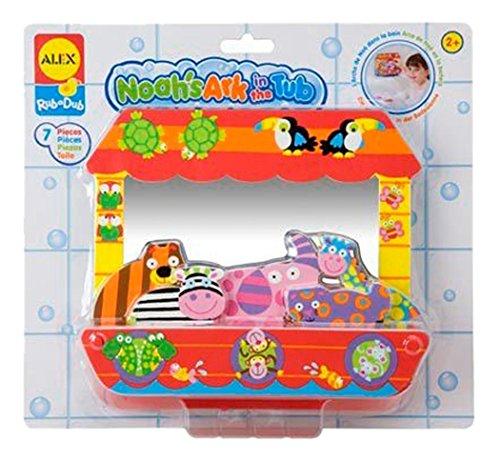 ALEX Toys Rub a Dub Noah's Ark - 1