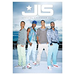 Official JLS 2013 Calendar (Calendar 2013) (Aug 31, 2012)
