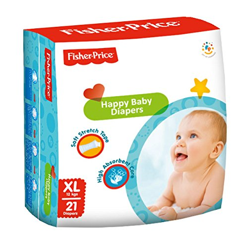 Fisher Price Happy Baby Diapers Xtra Large