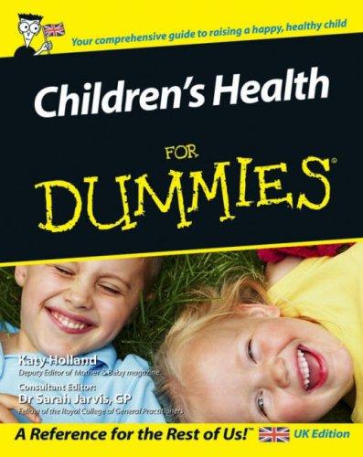 Children'S Health For Dummies front-1076202