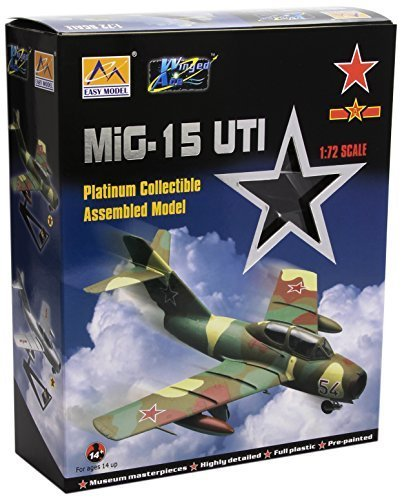 easy-model-172-scale-mig-15uti-midget-china-pla-air-force-model-kit-by-easymodel