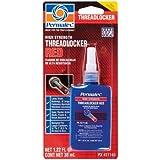Permatex 27140-6PK High Strength Threadlocker Red, 36 ml (Pack of 6)