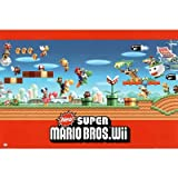 (24x36) Nintendo (Super Mario Bros. Wii Group) Video Game Poster Print