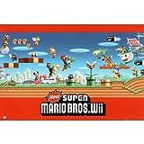 Nintendo Super Mario Bros. Wii Group Game Print