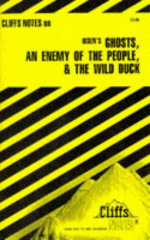 Image for Ibsen's Plays II: Ghosts, An Enemy of the People & The Wild Duck (Cliffs Notes)