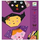 Manualidad infantil Djeco Origami Papiroflexia de CARAS. Niños 4 a 8años