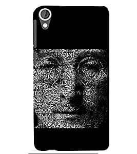 PRINTSWAG TYPOGRAPHY Designer Back Cover Case for HTC DESIRE 826