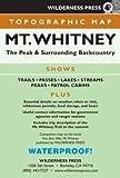 MAP Mt. Whitney Topo (Wilderness Press Maps)