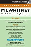 img - for MAP Mt. Whitney Topo (Wilderness Press Maps) book / textbook / text book