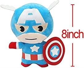 Anime Cartoon the Avengers Captain America Model Cosplay Plush Doll Decoration