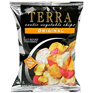 Terra Original Exotic Vegetable Chips, 1 Ounce Bags (Pack of 24)
