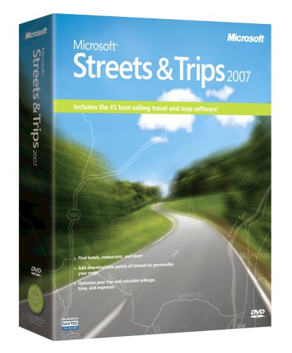 Microsoft Streets and Trips 2007 [OLD VERSION] (Streets And Trips Software compare prices)