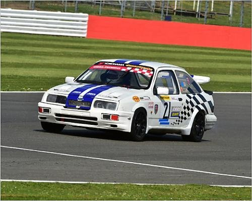 Photographic Print of CM9 6008 David Hughes, Ford Sierra Cosworth