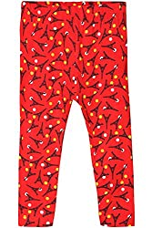 Chirpie Pie by Pantaloons Girl's Regular Fit Legging (205000005610380, Red, 6 - 9 Months)