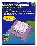 echange, troc N64 memory card 1mb