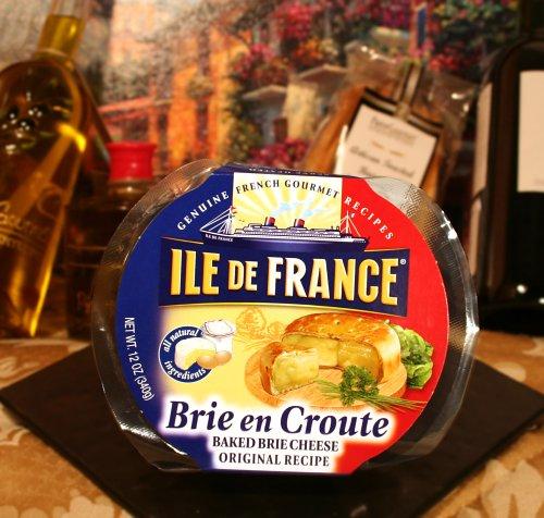 Brie En Croute, Baked