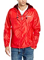 Geographical Norway Chaqueta Impermeable Breton (Rojo)