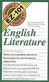 English Literature (EZ-101 Study Keys)