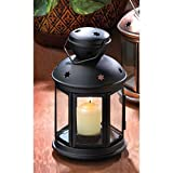 Zingz and Thingz Black Colonial Candle Lamp