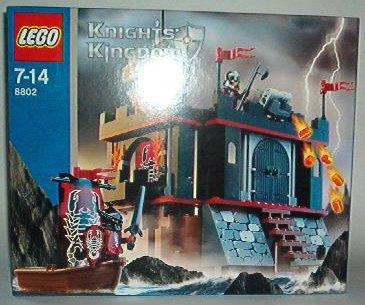 Lego 8802 KNIGHTS KINGDOM Dark Fortress Landing online kaufen