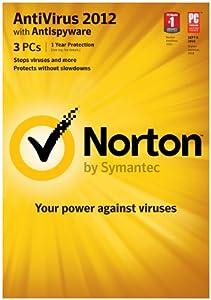 Norton Antivirus 2012 1 User - 3 PCs