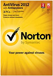 Norton Antivirus 2012 1 User - 3 PCs