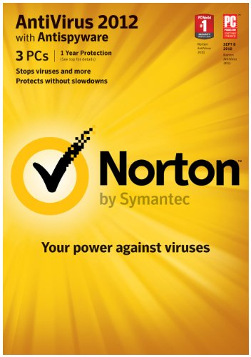 Norton Antivirus 2012 - 1 User 3 PC