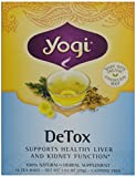 海外直送品 Yogi Teas / Golden Temple Tea Co Detox Tea, 16 Bags