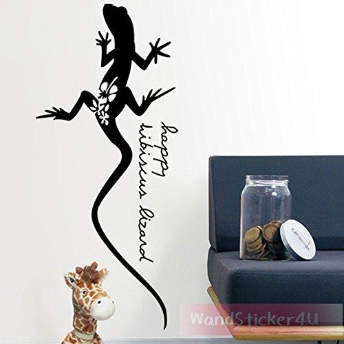 sticker4u-mural-lezard-gecko-reptiles-lezard-animaux-dragon-images-64-x-28-cm-noir-amovible-sticker-