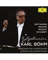 Beethoven, Brahms, Mozart, Schubert : Intégrale des symphonies