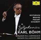 ベートーヴェン、ブラームス、モーツァルト、シューベルト:交響曲全集 ベーム&ウィーン・フィル、ベルリン・フィル(22CD)