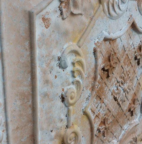 pl04imitation peinture plafond Fancy Carreaux Marron Effet vieilli Blanc Panneaux muraux Art Décoration Fond Photographie 10pieces/Lot