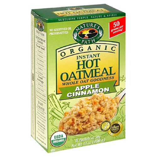Nature's Path Organic Instant Hot Cereal, Apple Cinnamon