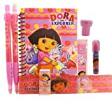 Dora Stationery Set - Hot Pink