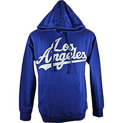 Los Angeles Dodgers True Royal Blue Hoodie Sweatshirt