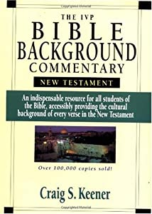 Cover of &quot;The IVP Bible Background Commen...