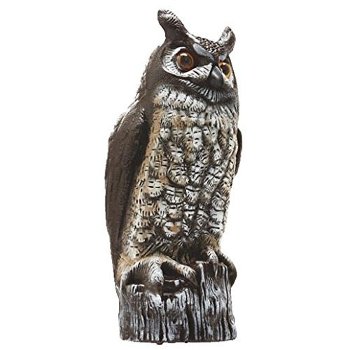 Gardeneer By Dalen Natural Enemy Scarecrow Great Horned Owl