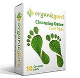 #1: OrganicGuru® Detox-Pflaster – Fusspflaster Pflaster Pad Entgiften Detox (10)