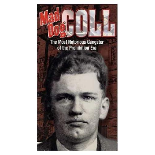 Amazon.com: Mad Dog Coll [VHS]: Vincent 'mad Dog' Coll