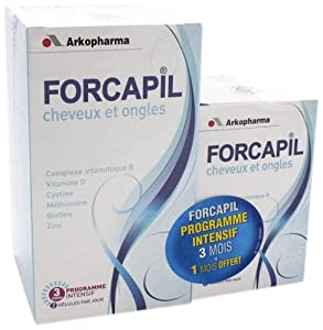 Arkopharma Forcapil Hair and Nails Intensive Program 240 Capsules
