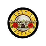 Guns N Roses Logo Large Round Fabric Back Patch (ro) (Color: Multi as Picture)